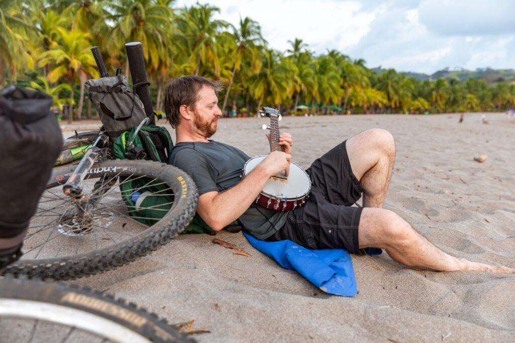 Costa Rica Bikepacking Beach Relaxation