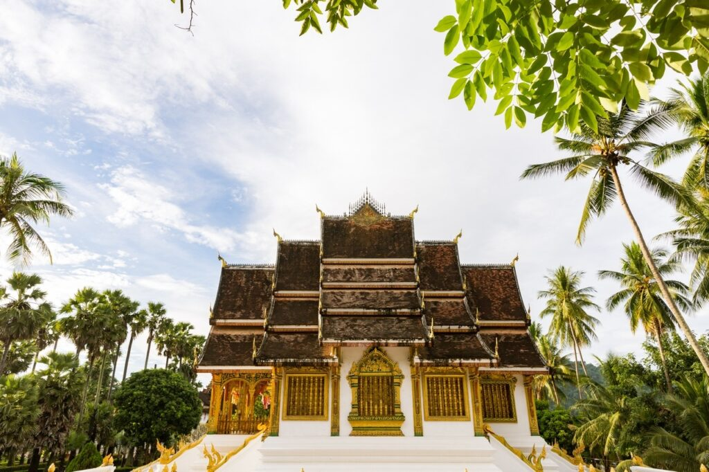 Laos Palace Luang Prabang